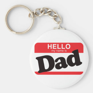 Hola mi nombre es papá llavero personalizado