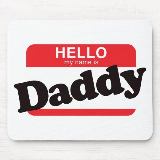 Hola mi nombre es papá mouse pads