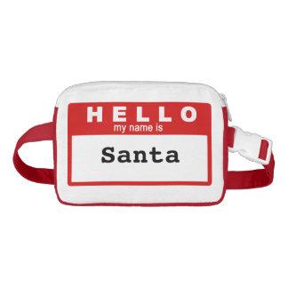 Hola mi nombre es paquete de encargo de Santa
