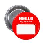 Hola mi nombre es pin