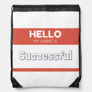 Hola mi nombre es rojo acertado mochila