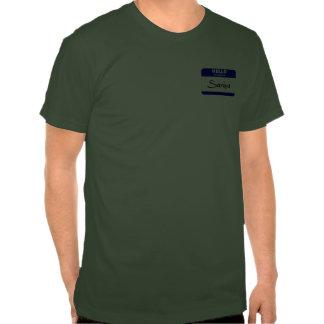 Hola mi nombre es Saniya (azul) Camisetas