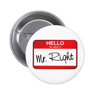Hola mi nombre es Sr. la Right Pins
