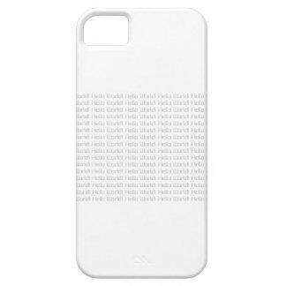 ¡Hola mundo! iPhone 5 Carcasa