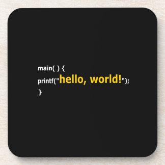 ¡Hola mundo! Posavaso