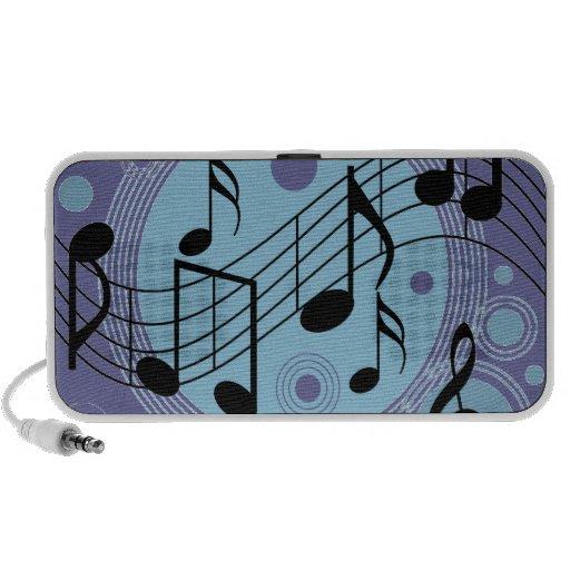 hola música notebook altavoces