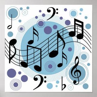 hola música póster