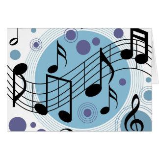 hola música tarjeton