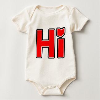 Hola Ohio Body Para Bebé