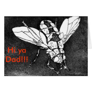 ¡Hola papá del ya!!! Tarjeta