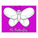 Hola papel con membrete de Butterfly® Membrete A Diseño