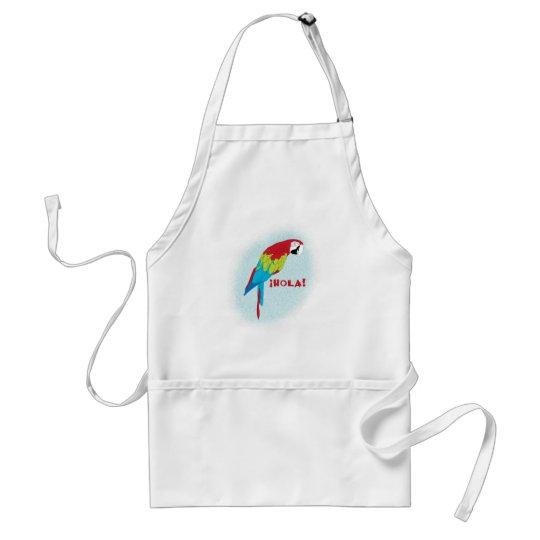 hola parrot adult apron