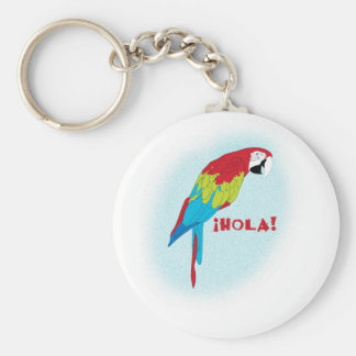 hola parrot keychains