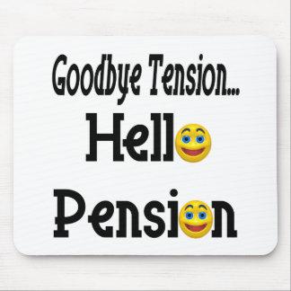 Hola pensión de retiro mouse pad