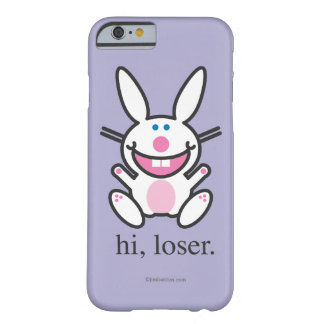 Hola perdedor funda de iPhone 6 barely there