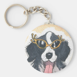 ¡Hola perritos! Llavero Redondo Tipo Pin