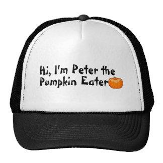 Hola Peter el comedor de la calabaza Gorros
