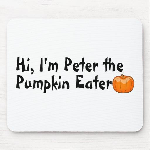 Hola Peter el comedor de la calabaza Mouse Pads