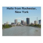 Hola postal de Rochester, Nueva York