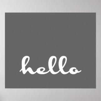 ¡Hola! Póster