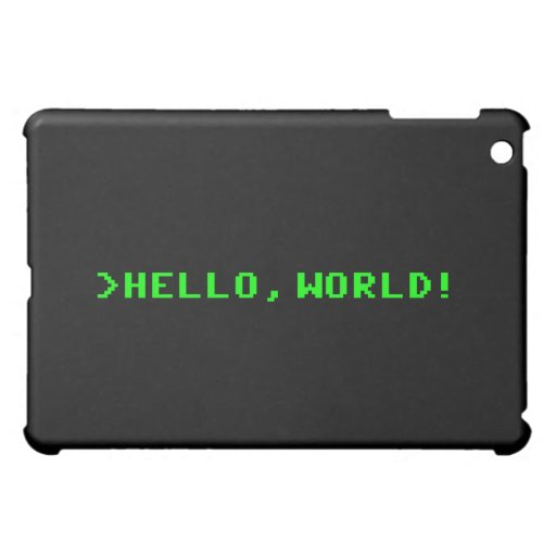Hola programación informática del mundo