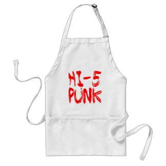 Hola punk 5 delantal