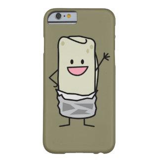 Hola que agita del Burrito feliz de Carne Asada Funda De iPhone 6 Barely There