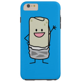 Hola que agita del Burrito feliz de Carne Asada Funda De iPhone 6 Plus Tough