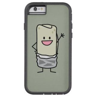 Hola que agita del Burrito feliz de Carne Asada Funda De iPhone 6 Tough Xtreme