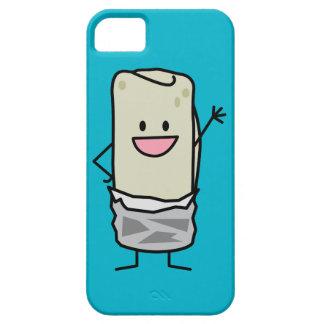 Hola que agita del Burrito feliz iPhone 5 Carcasas
