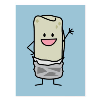 Hola que agita del Burrito feliz Tarjetas Postales