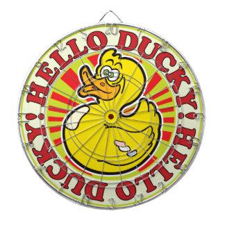 Hola R Ducky Tablero De Dardos