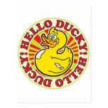 Hola R Ducky Postal