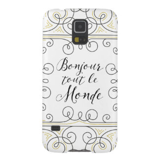 Hola revendedor alegre Le Monde de Bonjour del Carcasa Galaxy S5