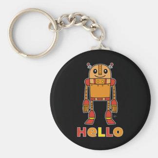 Hola robot - llavero (oscuro)