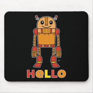 Hola robot - Mousepad Alfombrillas De Ratón
