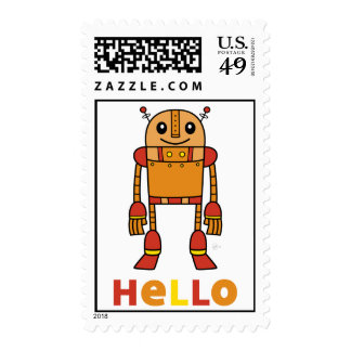 Hola robot - sello