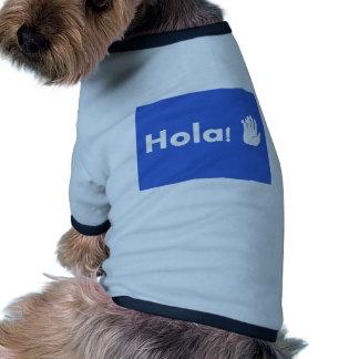 Hola Camisa De Perro