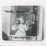 ¿Hola, Santa? - Mousepad Tapete De Raton