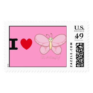 Hola sello de Butterfly®