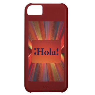 Hola Shades of Orange iPhone 5C Cases