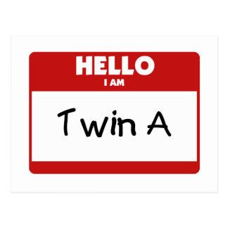 Hola soy A gemela Postal