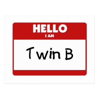 Hola soy B gemelo Postal