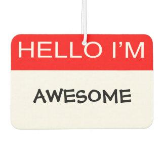 Hola soy impresionante