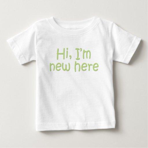 Hola, soy nuevo aquí tshirt