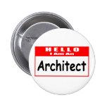 Hola, soy un Nametag del arquitecto… Pin