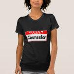 Hola, soy un Nametag del consejero… Camisetas