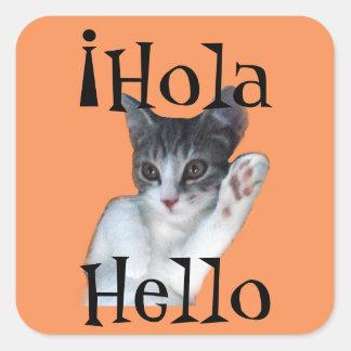 ¡Hola Spanish Stickers