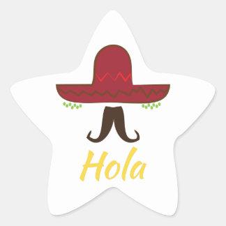 Hola Star Sticker
