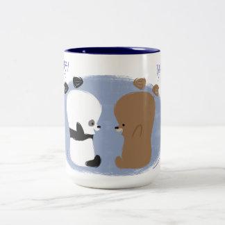 ¡Hola! Taza de 2 osos